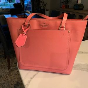 Unique Kate Spade Salmon-colored Cameron Tote